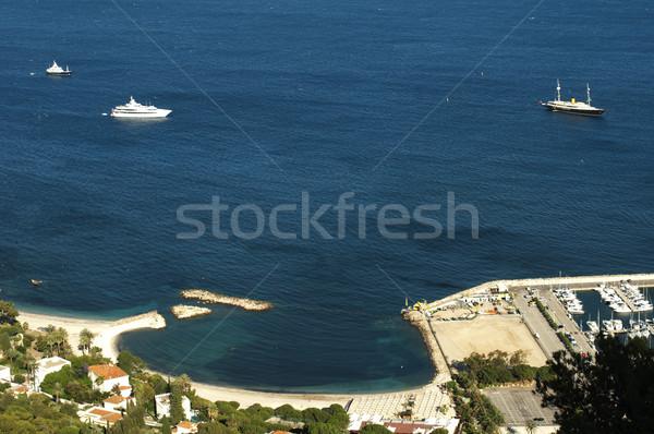 Bay of Monaco and Monte Carlo Stock photo © deyangeorgiev