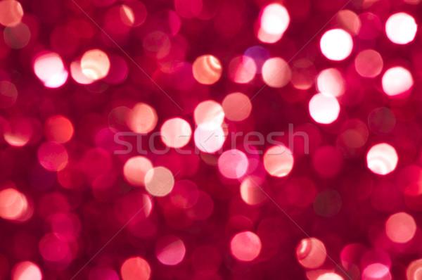 ünnep fényes piros homályos fények színek Stock fotó © deyangeorgiev