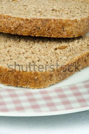 Wholegrain bread Stock photo © deyangeorgiev