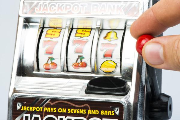 Gambling machine Stock photo © deyangeorgiev