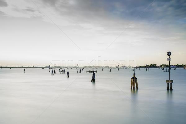 Sea route to Venice Stock photo © deyangeorgiev