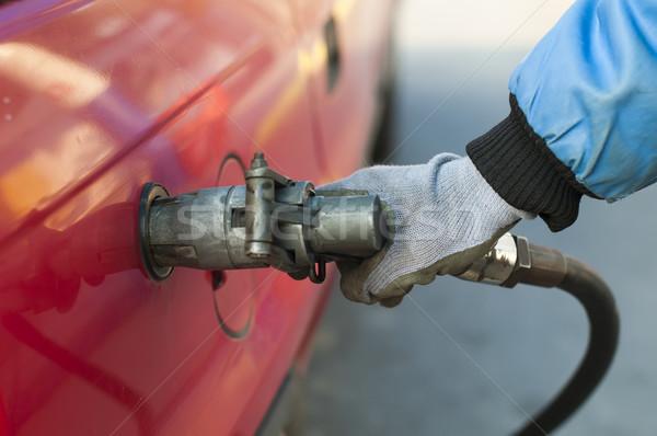 Loading a car with gas Stock photo © deyangeorgiev