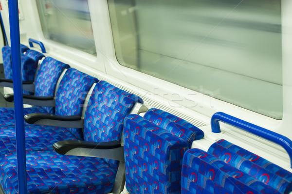 Bus Interior at public transport.  Stock photo © deyangeorgiev
