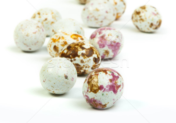 Small multicolored eggs Stock photo © deyangeorgiev