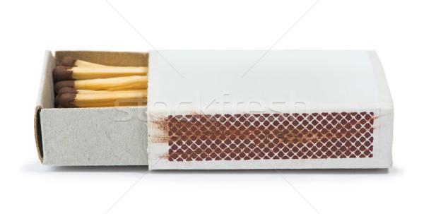 White isolated matches and matchsticks Stock photo © deyangeorgiev