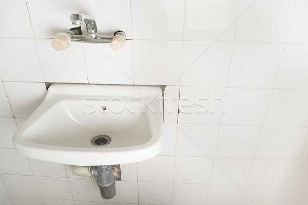 Sink and pipes Stock photo © deyangeorgiev