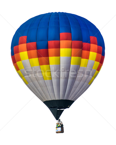 Multicolored Balloon white isolated Stock photo © deyangeorgiev