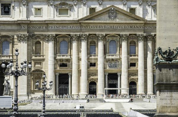 Stock fotó: Vatikán · Róma · bazilika · égbolt · épület · város