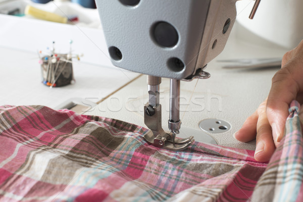 швейные машины моде работу дизайна промышленности Сток-фото © deyangeorgiev