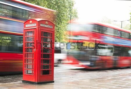 Red Phone cabine in London.  Stock photo © deyangeorgiev