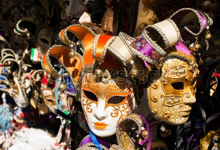 Venetian carnival masks Stock photo © deyangeorgiev