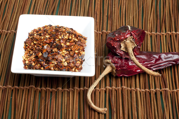 Coarsely ground red pepper Stock photo © deyangeorgiev