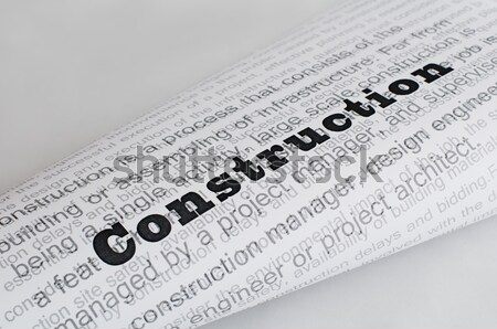 Typed text Loneliness on paper Stock photo © deyangeorgiev