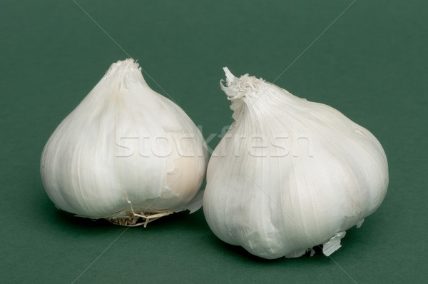 Whole heads of garlic  Stock photo © deyangeorgiev