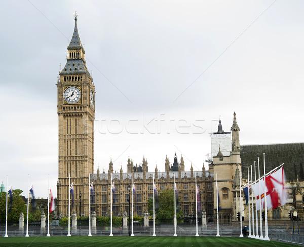 большой Бен Лондон дворец Вестминстерский город архитектура Сток-фото © deyangeorgiev