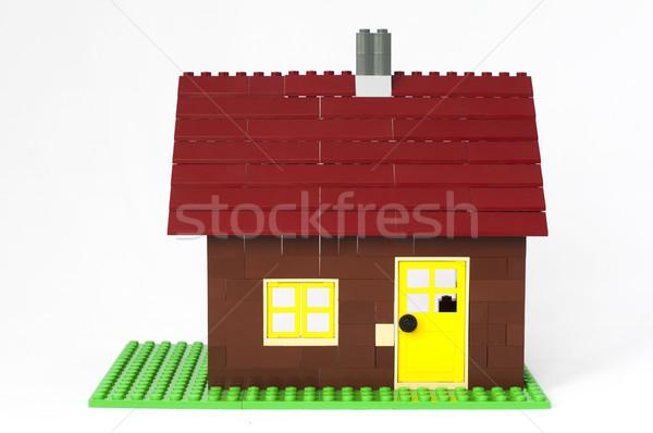 Constructor house Stock photo © deyangeorgiev