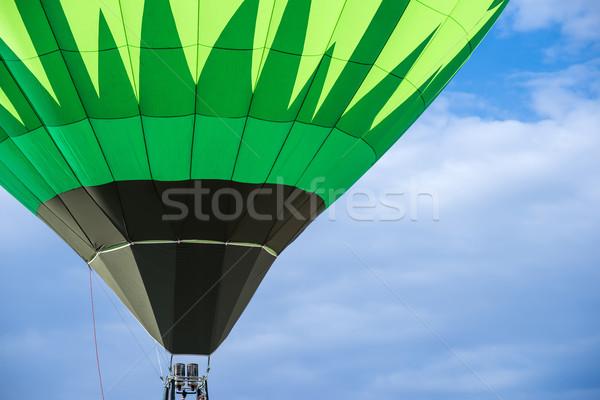 Green Balloon  Stock photo © deyangeorgiev