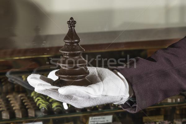 çikolata noel ağacı alışveriş arka plan süt şeker Stok fotoğraf © deyangeorgiev