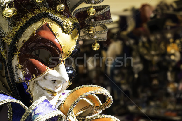 ベニスの カーニバル マスク 販売 市場 顔 ストックフォト © deyangeorgiev