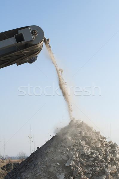 Machine for crushing stone Stock photo © deyangeorgiev