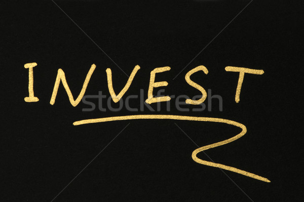 Investments conception  Stock photo © deyangeorgiev