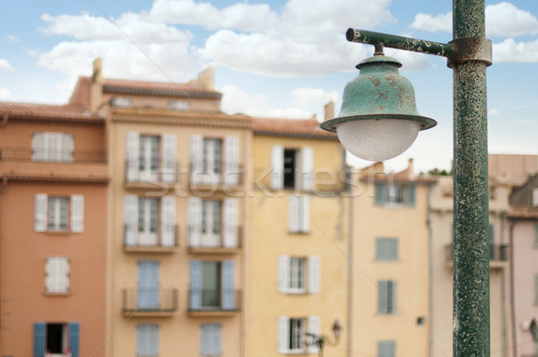 Ancient buildings in St. Tropez.  Stock photo © deyangeorgiev