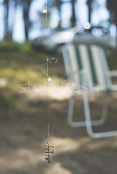Fishhook details Stock photo © deyangeorgiev