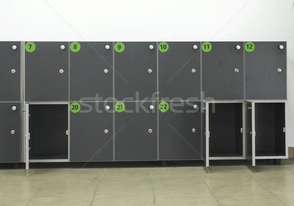 Cabinets safes luggage Stock photo © deyangeorgiev