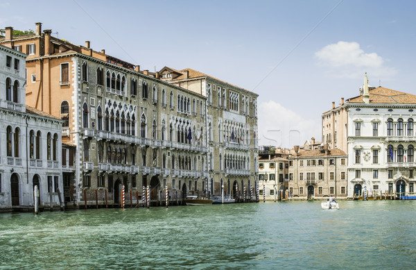 Stock photo: Ancient buildings in Venice