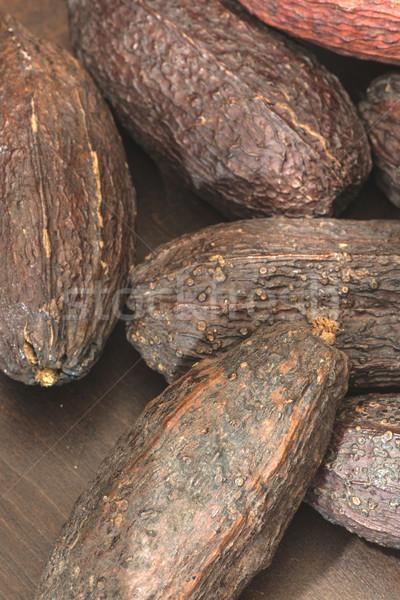Cocoa pods Stock photo © deyangeorgiev