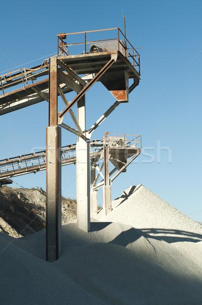 Foto stock: Maquinaria · calcário · rochas · natureza · paisagem · montanha