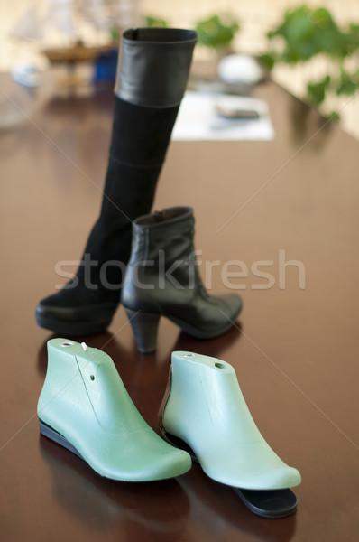Mold for making shoes Stock photo © deyangeorgiev