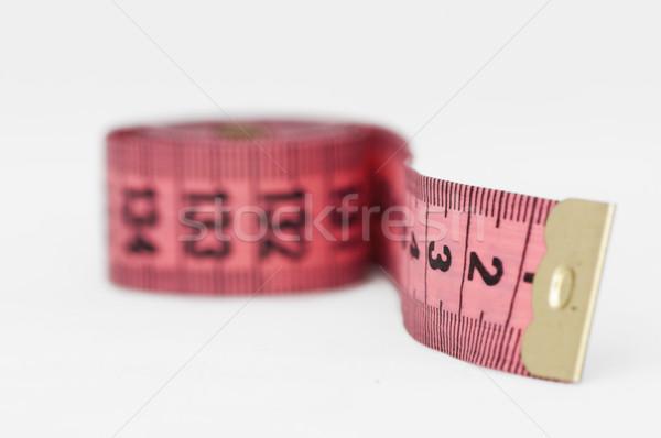 Pink tape Measure Stock photo © deyangeorgiev