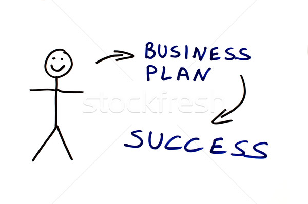 Business plan conception illustration Stock photo © deyangeorgiev