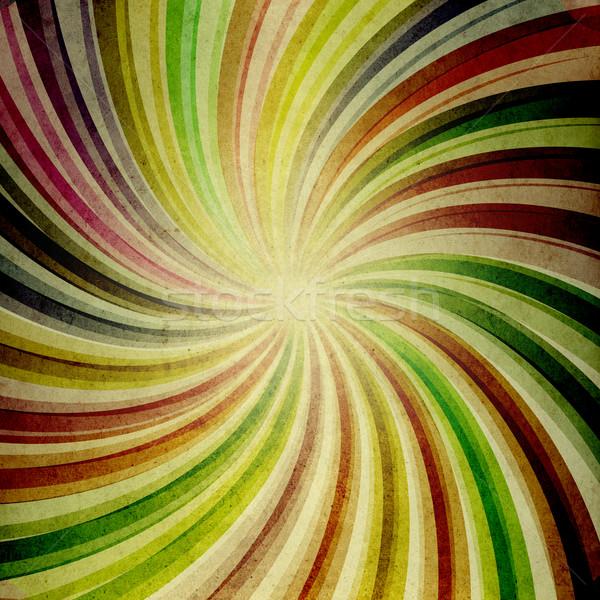 Decoratief retro papier stijl 80s kleuren Stockfoto © deyangeorgiev
