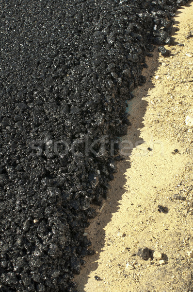 Asphalt and asphalting the road Stock photo © deyangeorgiev