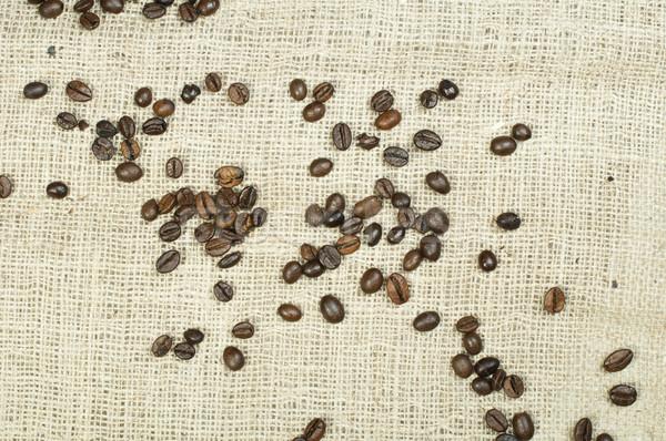 Kahve çekirdekleri bo gıda kahve doğa arka plan Stok fotoğraf © deyangeorgiev