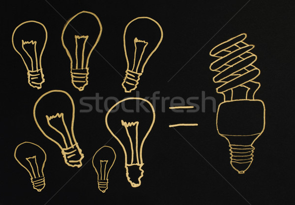 Efficient lamps  Stock photo © deyangeorgiev