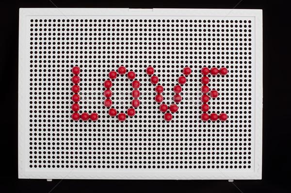 текста любви ребенка мозаика красочный частей Сток-фото © deyangeorgiev