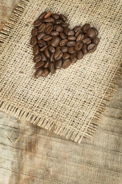 сердце кофе любви кофе шоколадом Сток-фото © deyangeorgiev