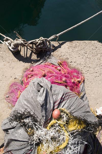 魚 ボート 日 光 ギリシャ 水 ストックフォト © deyangeorgiev