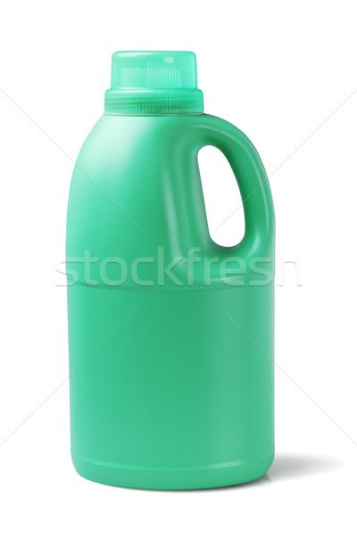 Plástico detergente recipiente garrafa branco banheiro Foto stock © dezign56