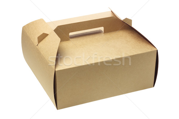 Stock photo: Takeaway Cake Box