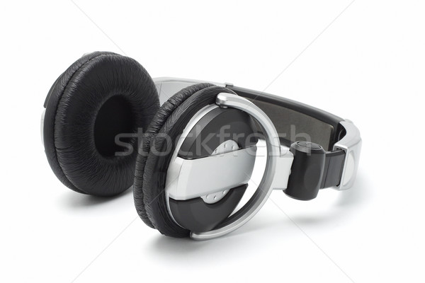 Estéreo auriculares aislado blanco orador digital Foto stock © dezign56