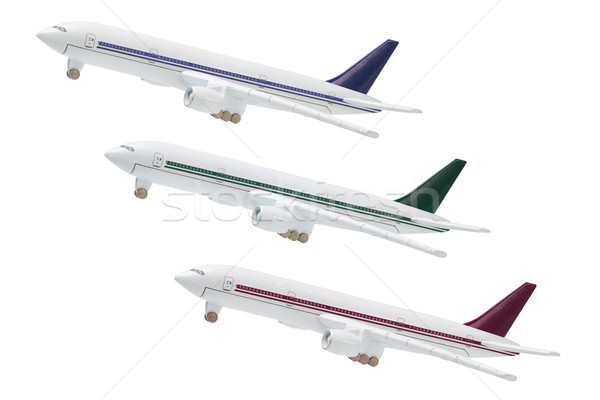 Miniature Model of Commercial Jetliners Stock photo © dezign56