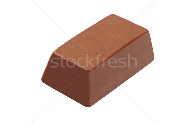 изолированный белый шоколадом Бар конфеты Сток-фото © dezign56