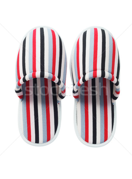 Colorful Home Slippers Stock photo © dezign56