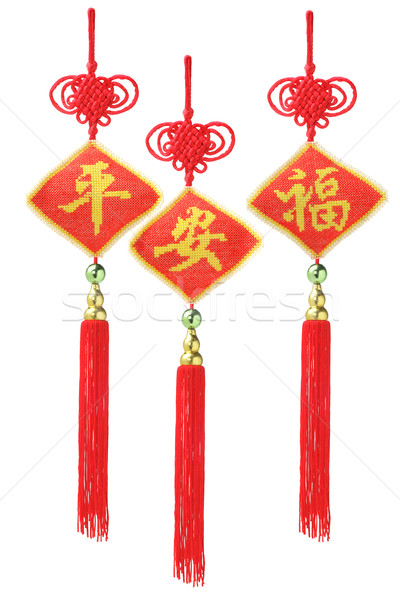 Chinese New Year Ornaments Stock photo © dezign56