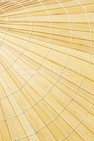 соломенной шляпе поверхность шаблон текстуры Сток-фото © dezign56
