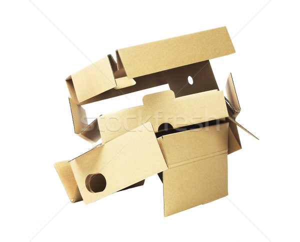 Discarded Packaging Cardboard Stock photo © dezign56